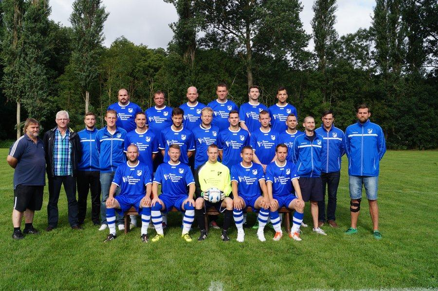 Mannschaftsfoto Fussball 2016/2017