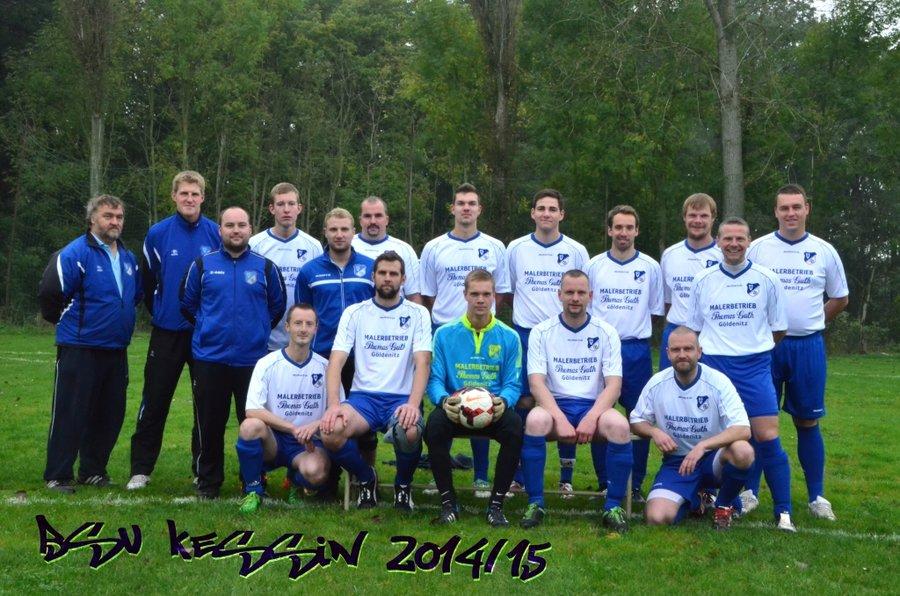 Mannschaftsfoto 2014/2015